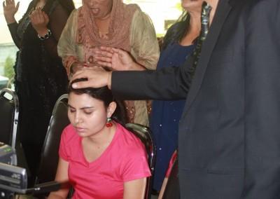 Pastor Mark Praying